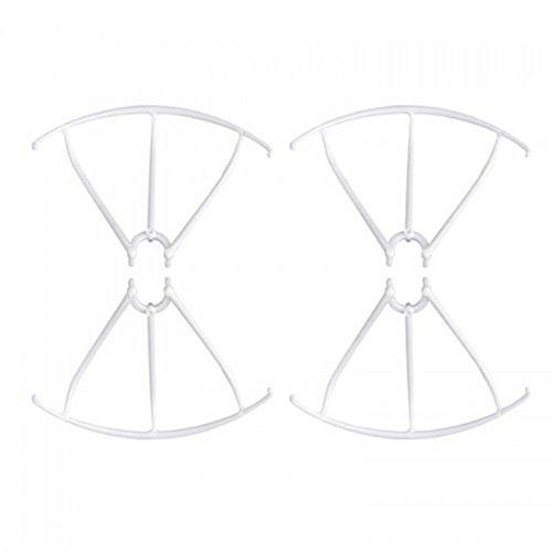 TOOGOO(R)) Protectores de helice para Syma X5 X5C Marco de Pala Pieza de Repuesto X5-03 Blanco