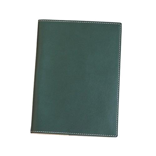 (ブラン・クチュール)BlancCouture 本革手帳カバー「A5サイズ」ノートカバー/国産フルタンニンドレザー(オリーブフィーユ)