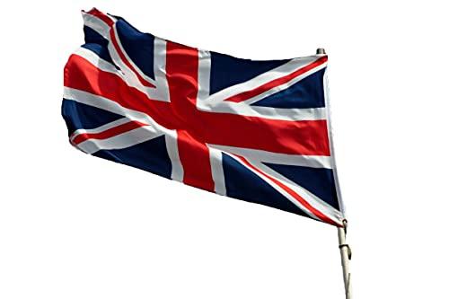Großbritannien Union Jack schwarz Banner schwarze britische Fahnen Flaggen 30x45