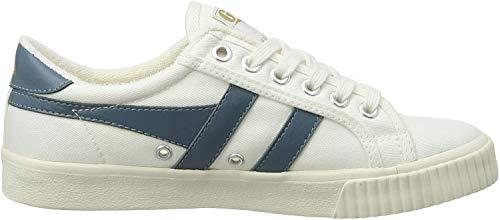 Gola Cla280, Zapatillas para Mujer, Marfil (Off White/INDAIN Teal XE), 38 EU
