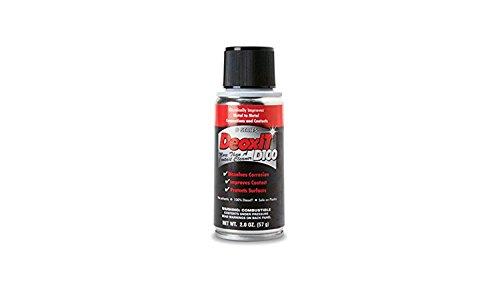DeoxIT DSeries D100S Spray 100% Solution 57 g no solvents metered oneShot Valve dispenses 100% DeoxIT