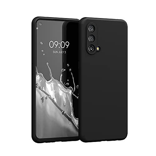 kwmobile Hülle kompatibel mit OnePlus Nord CE 5G - Hülle Silikon gummiert - Handyhülle - Handy Hülle in Schwarz