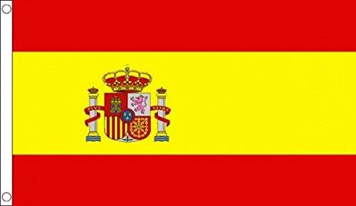 Spaans wapen staat 100% polyester vlag baner ideaal voor de pub, vereniging, school en festivals, zakelijke feestdecoratie
