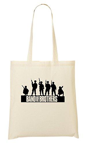 C+P Band Of Brothers Cool Tragetasche Einkaufstasche