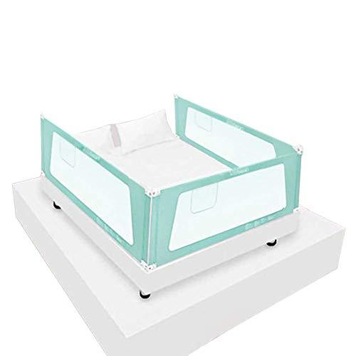 Z-SEAT 3-Lateral Extra Alto Tren Cama Guard para Niños Pequeños, De Elevación Vertical Infantil Valla De Cama De Matrimonio Y Cama King Size