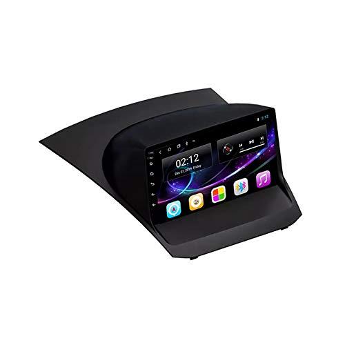 2 DIN Car Stereo Radio De Coche De 9 Pulgadas HD Pantalla Táctil Bluetooth Manos Libres Radio Auto FM/USB/AUX IN con Cámara De Visión Trasera, para Ford Fiesta 2009-2017,Quad Core,WiFi 1+16