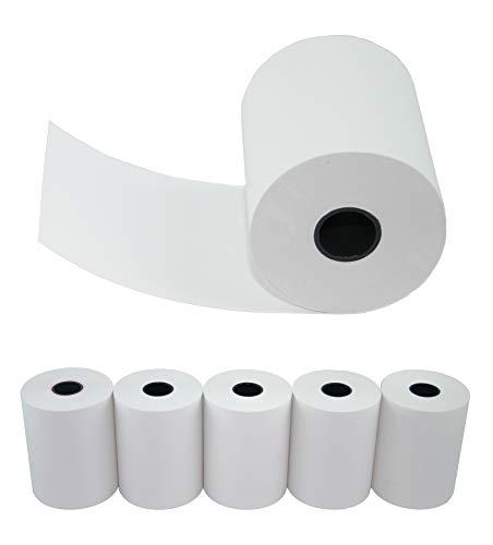 HeiPOS 5 x EC Cash Thermorollen 57 x 36 x 12mm, Lauflänge: 14m, BPA - Phenol-A frei