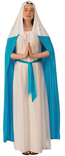 Rubie's Women's Adult Biblical Costume, Dark Blue Mary, As Shown, Medium