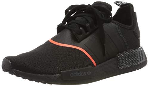 adidas Herren NMD_r1 Gymnastikschuhe, Schwarz (Core Black/Core Black/Solar Red Core Black/Core Black/Solar Red), 42 2/3 EU