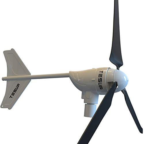 TESUP Kit de turbina eólica Maestra940 - Hecho en Europa (12 V) // M940-12 + M940CC...