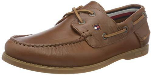Tommy Hilfiger Classic Leather Boat Shoe, Náuticos Hombre