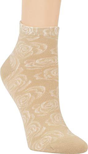 ch-home-design 3 Paar Kurzsocken Kurzstrumpf ''Rosa'' Socken für Teenager & Damen RS - 5293 (35-38, Banane-Sand-Natur)