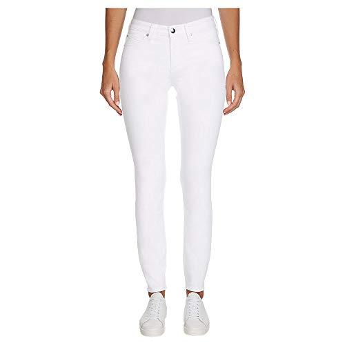 Calvin Klein Ckj 011 Mid Rise Skinny Vaqueros, Blanco (Da094 White 1cd),...