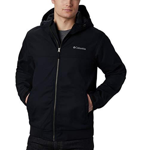Columbia Men's Loma Vista Hooded Jacket, Black, Medium