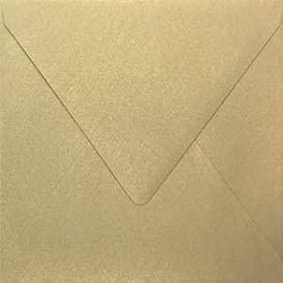 Stardream Gold Leaf 6 x 6 Euro Flap Square Envelope - 50 Envelopes