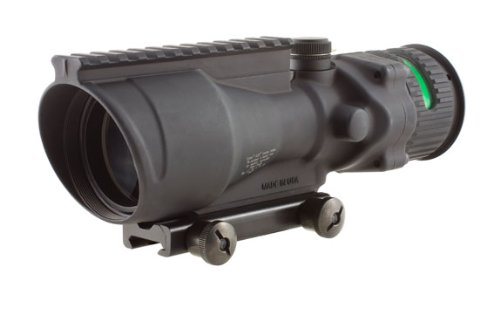 Trijicon ACOG 6 X 48 Scope Dual Illuminated Chevron .308 Ballistic Reticle, Green