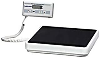 "Health O Meter 349KLX Digital Scale, Remote Display, Capacity 400 lb, Resolution 0.2 lb, 12-1/2"" x 12"" x 1-7/8"" Platform"