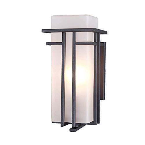 NXYJD Simple luz LED de Pared Plaza Creativo Moderno al Aire Libre Aplique a Prueba de Agua al Aire Libre Balcón Corredor lámpara de Pared del Pasillo jardín de la luz