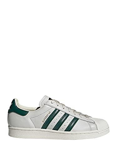 adidas Superstar, Zapatillas Deportivas Hombre, Off White Collegiate Green Off White, 40 2/3 EU