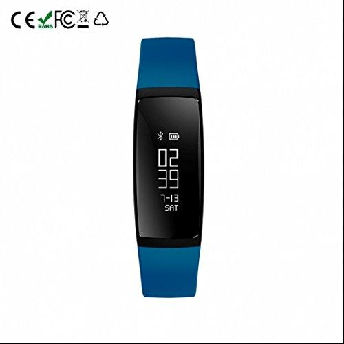Pressione Smart Wristband contapassi intelligente bracciale cardiofrequenzimetro Smartband fitness tracker per iOS Android Phone