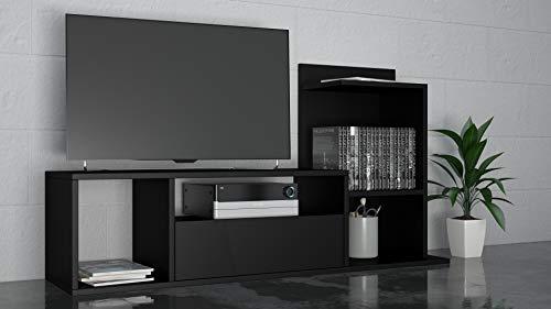 THETA DESIGN by Homemania, Sumatra, Porta TV, Nero