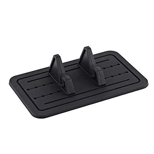 Silikon KFZ-Halterung Pad Matte Armaturenbrett, rutschfeste Ständer Handy Halterung Armaturenbrett Breite verstellbar für Smartphone Phone GPS Tisch