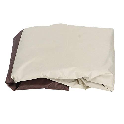 TOPINCN - Funda impermeable para silla mecedora de tela termorretráctil