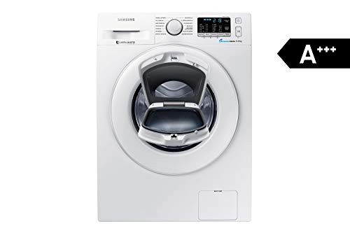 Samsung WW80K5400WW/EG Waschmaschine FL/A+++/116 kWh/Jahr/1400 UpM/8 kg/Add Wash/Smart Check/Digital...