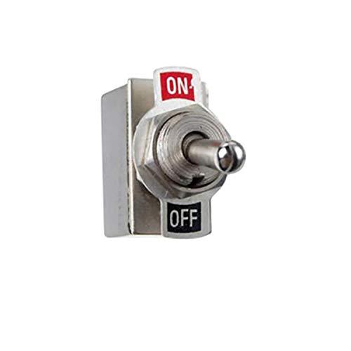 Interrupteur a levier acier chromé (ON - OFF)