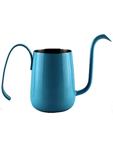 SJQ-coffee pot CafetièRe AméRicaine, Col de Cygne en Acier Inoxydable avec RevêTement en TéFlon, PoignéE RéSistante à la Chaleur pour Bar, 2 Tasses, Multicolore
