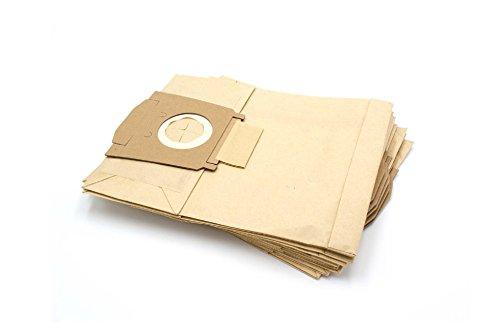 vhbw 10 sacs papier pour aspirateur robot aspirateur multi-usages comme Bosch taille A, taille B, taille C