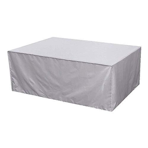 ZXHQ Protectora para Mesa De Patio 205x104x71cm, Cubierta De Muebles JardíN, Funda Muebles Terraza Exterior Impermeable A Prueba Viento Anti Rayos UV para Mesas Y Sillas Muebles