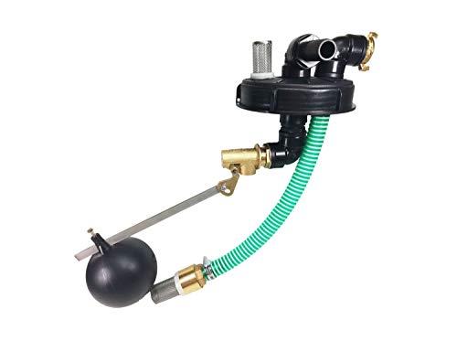 FN-Technik IBC Regenwasser Einlauf mit Überfüllsicherung/Pumpenanschluss Deckel DN 150