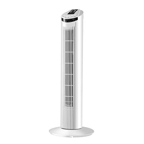 Famgizmo Ventilador de Torre Digital, 3 Velocidades, 3 Modos, Temporizador 7,5h, Silencioso, 45w Motor de Cobre, 75cm