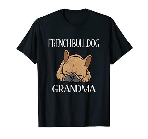 French Bulldog Grandma Frenchie T-Shirt For Women