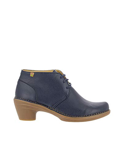 El Naturalista Femme Bottines, Dame Bottines,Bottes,Bottine,Bottillon,Plat,Bleu(),38 EU / 5 UK