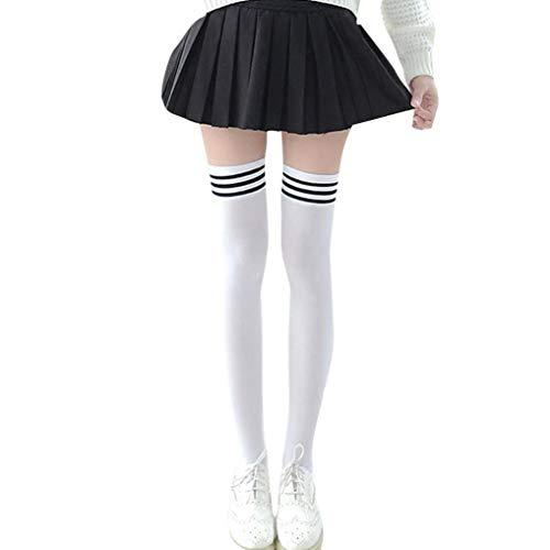 Adelina Dameslegging met hoge knie en knie en hippe sokken, slim, modieus, voor Kerstmis, cadeau, fijne panty's, leggings