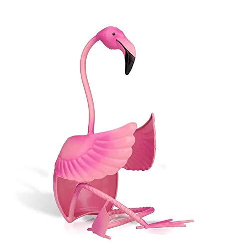 TZSHUQ Metaal Roze Wijnrek DIY Flamingo Vorm Flessenrek Handgemaakte Wijnbeeldje Juice Drink Champagne Goblet Houder Huisdecoratie