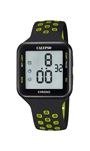 Calypso Damen Digital Quarz Uhr mit Plastik Armband K5748/6