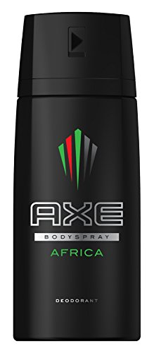 Axe Deospray Africa ohne Aluminiuml, 3er Pack (3 x 150ml)