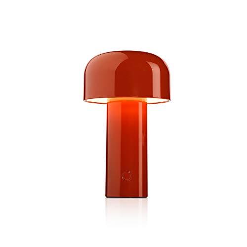 Flos Bellhop - Battery, policarbonato, rojo, 12,5 x 21 cm