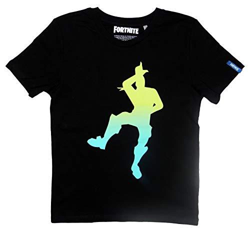 FABTASTICS Fortnitekids Camiseta, Negro Schwarz, 176