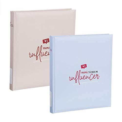Mama Influencer Fotoalbum, 2 kleuren, 20 vellen, zelfklevend, 29 cm