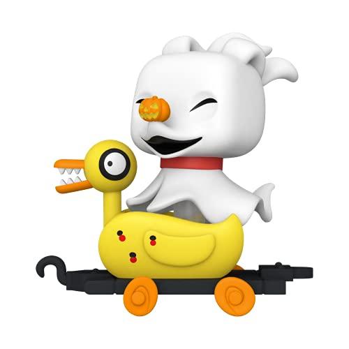 Funko- Pop Disney: Nightmare Before Christmas Train-Zero in Duck Cart Figura da Collezione, Multicolore, 50633