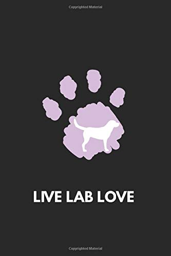 Life, Lab, Love: Job notebook 120 lined pages paper