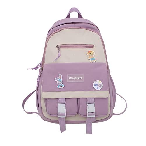 Totepack, zaino convertibile e borsa per il trasporto in materiale impermeabile (tablet, cavo, borraccia, abbigliamento di ricambio, accessori per uso quotidiano), viola.,