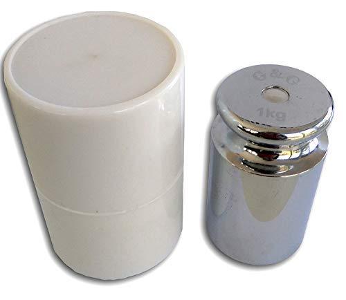 G & G M2 Eisen 200g Kalibriergewicht Prüfgewicht inkl. Schutzhülse/Kalibriergewicht für Digitalwaage von Waagen 200g