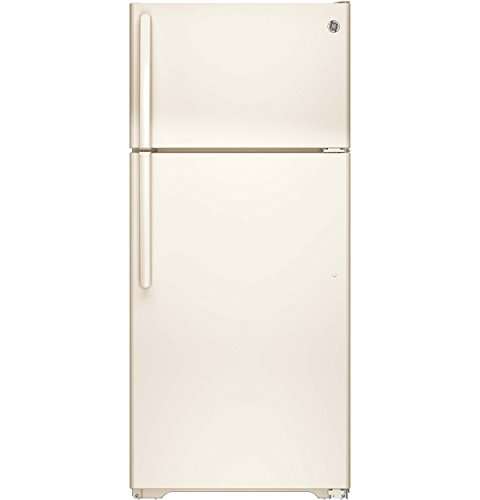 GE GTE16DTHCC 15.5 Cu. Ft. Bisque Top Freezer Refrigerator - Energy Star