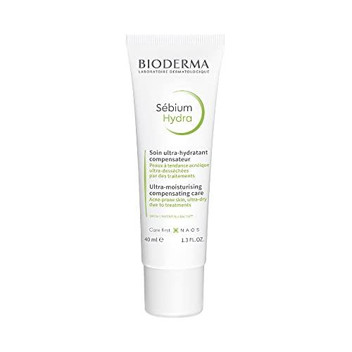 Bioderma - SÉBIUM Hydra - Soin Compensateur hydratant et Apaisant - Peaux à tendance acnéique fragilisées par des traitements...