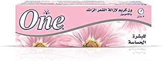 One Hair Removal Cream Enriched With Chamomile For Sensitive Skin, 140 gm